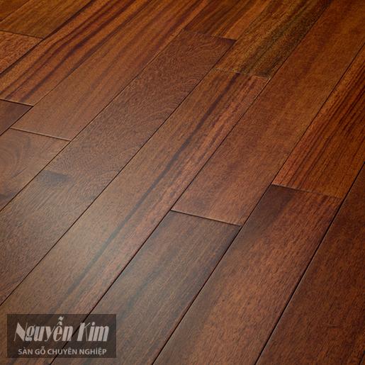 sàn gỗ tự nhiên sơn bóng mờ