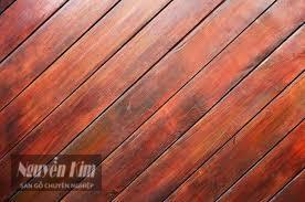 mô hình chéo của sàn gỗ tự nhiên