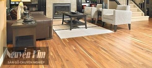 mô hình thường thấy của sàn gỗ tự nhiên