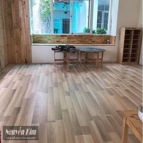 sàn gỗ kronoswiss thụy sỹ công trình thực tế