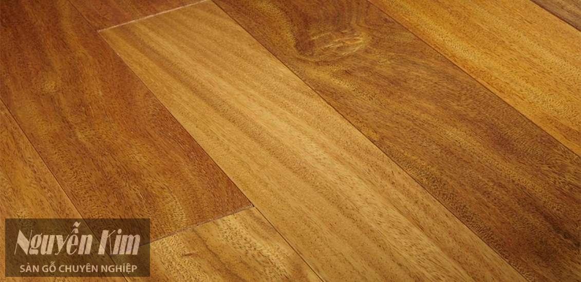 bề mặt sàn gỗ Lim Nam Phi