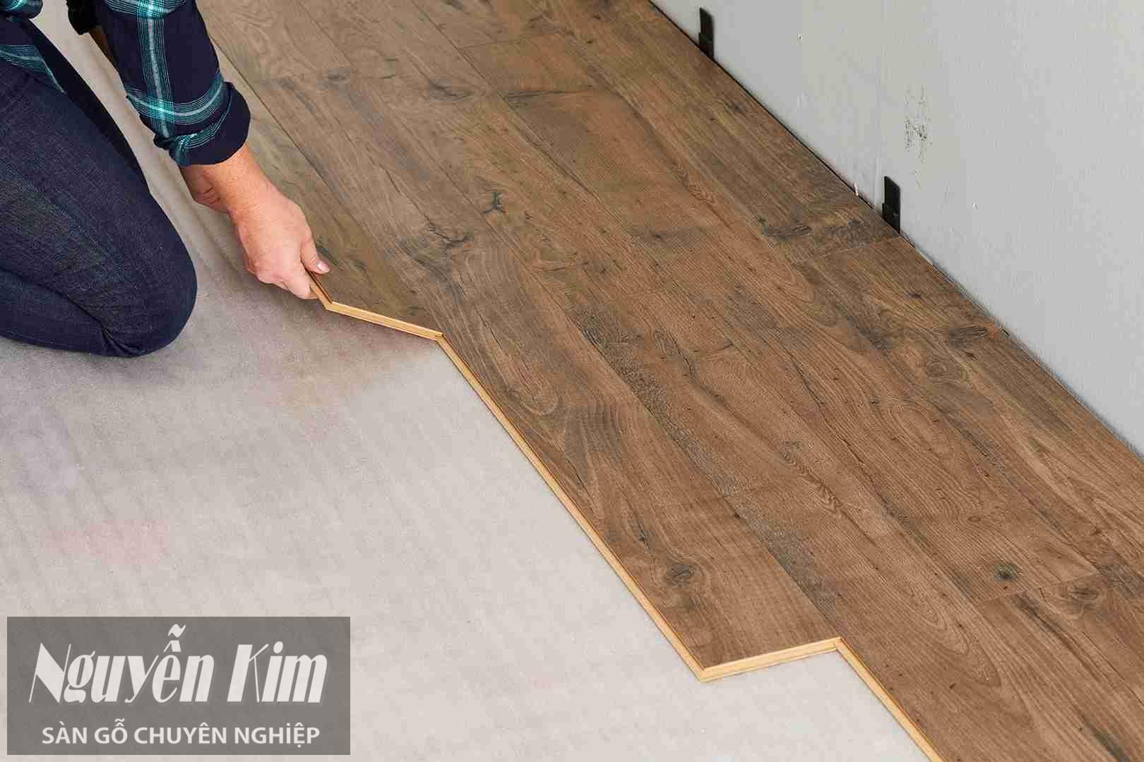 lắp đặt sàn gỗ công nghiệp