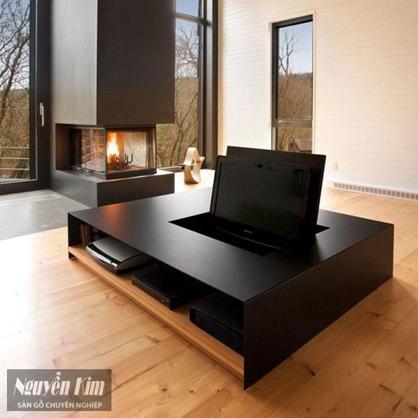 nội thất gỗ khiến phòng trở nên sang trọng