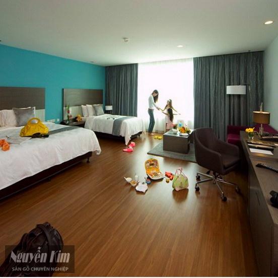 sàn gỗ janmi ce21 phòng ngủ