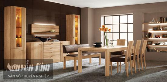 nội thất gỗ sồi