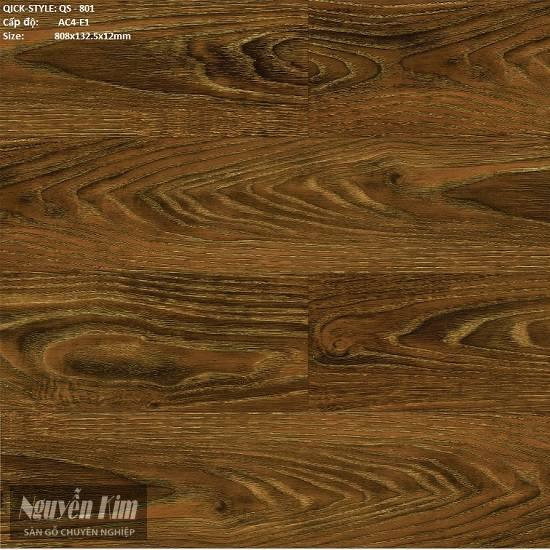 sàn gỗ quickstyle 801