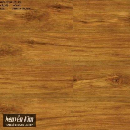 sàn gỗ quickstyle qs 102