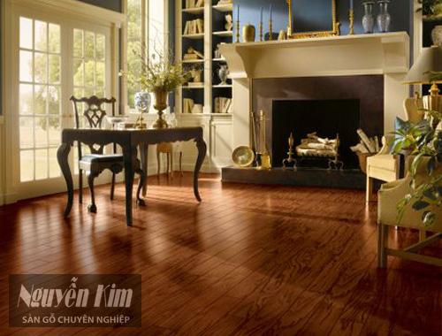 sàn gỗ tự nhiên trong nội thất