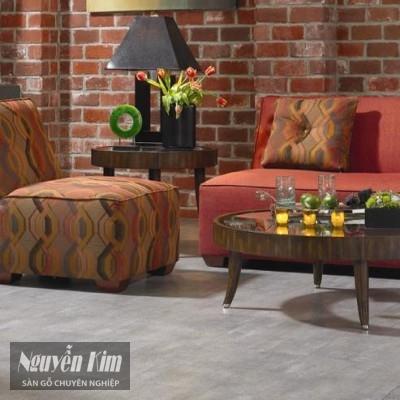 sàn gỗ cá tính cho phòng khách