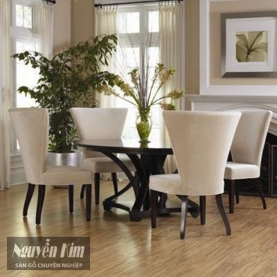 sàn gỗ cho phòng ăn