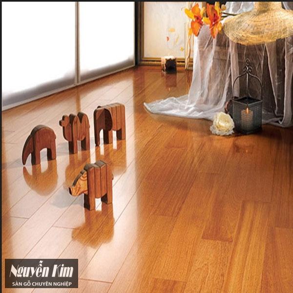 vẻ đẹp của sàn gỗ công nghiệp