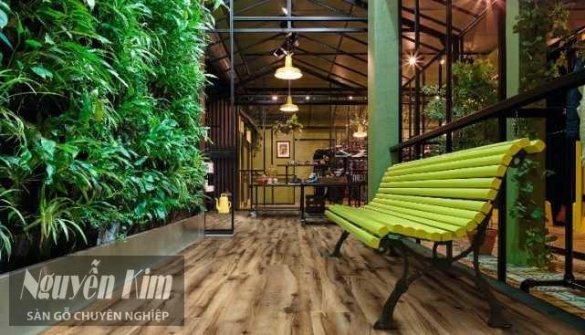 sàn gỗ công nghiệp gần gũi thiên nhiên