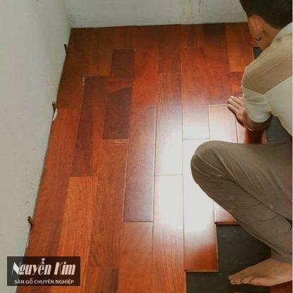 gỗ ván sàn giáng hương ghép