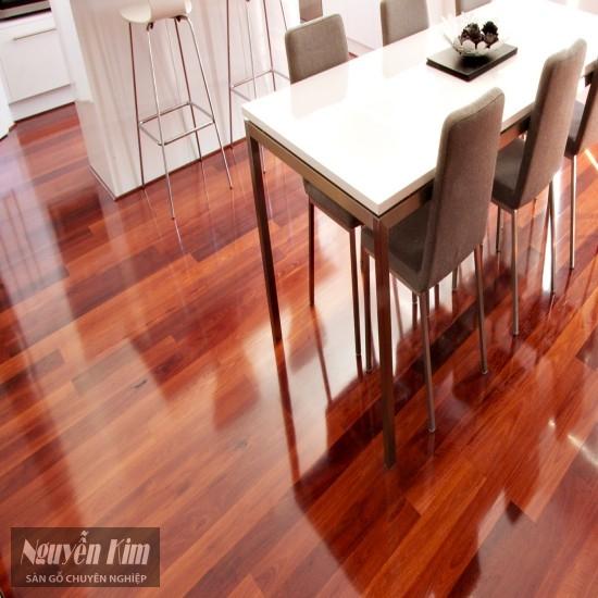 sàn gỗ giáng hương ghép thanh fjl