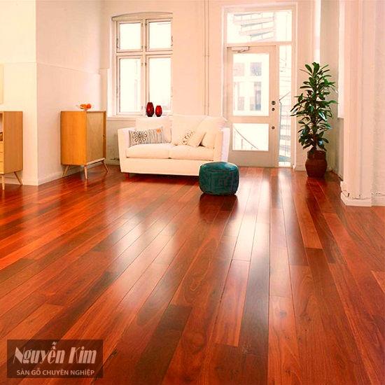 sàn gỗ giáng hương Lào đẹp