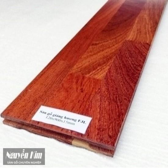 thanh ván sàn gỗ tự nhiên giáng hương fjl