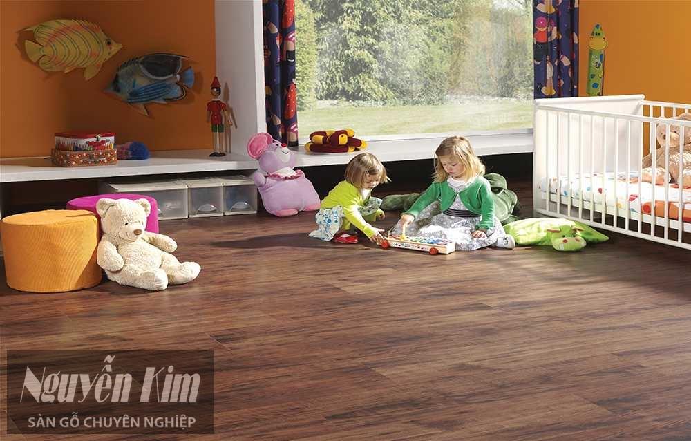 sàn gỗ phòng trẻ em
