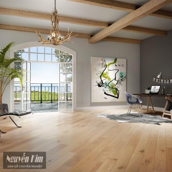 sàn gỗ sồi cao cấp siêu đẹp
