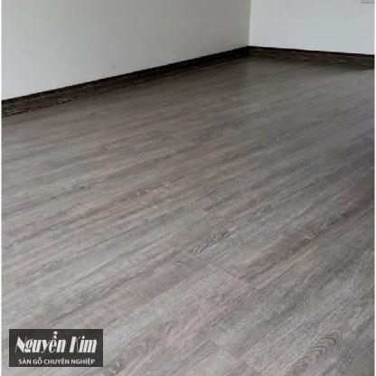 sàn gỗ công nghiệp vario 141 lát tại nhà dân