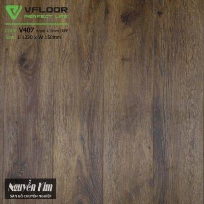 màu sàn nhựa V 407 607