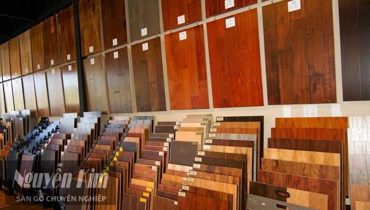 sàn gỗ công nghiệp có hàng trăm loại