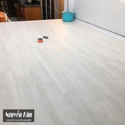 sàn gỗ vario o139 công trình thực tế