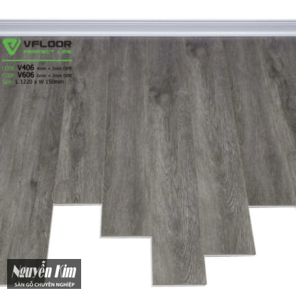sàn gỗ VFloor V 406 606
