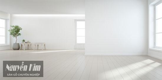lựa chọn sàn gỗ tự nhiên theo không gian