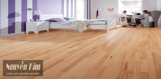 sàn gỗ Malaysia sau khi đã hoàn thiện