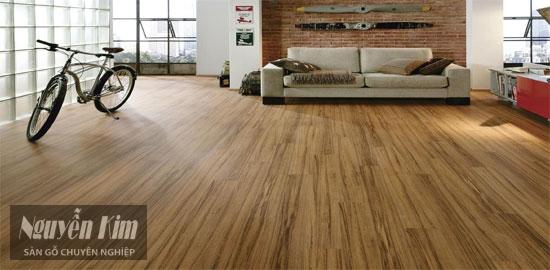 sàn gỗ công nghiệp làm từ gỗ MDF