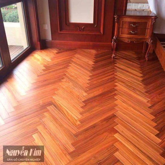 sàn gỗ giáng hương xương cá