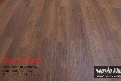 mã màu sàn gỗ hornitex 558 10mm