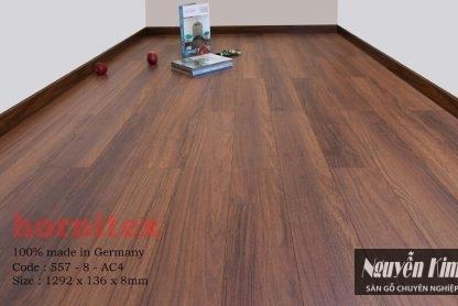 sàn gỗ công nghiệp hornitex 557 8mm