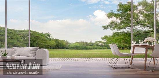 lựa chọn sàn gỗ tự nhiên theo độ bền