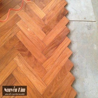 sàn gỗ căm xe xương cá đẹp