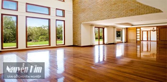 ưu nhược điểm sàn gỗ tự nhiên