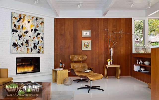 ấn tượng với mẫu gỗ ốp tường