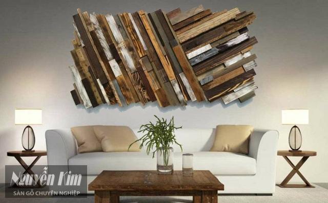 Ốp tranh gỗ nghệ thuật