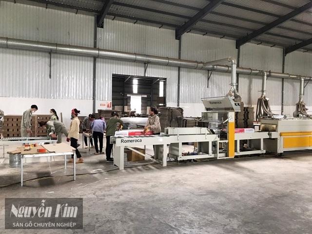 quy trình sản xuất gỗ công nghiệp