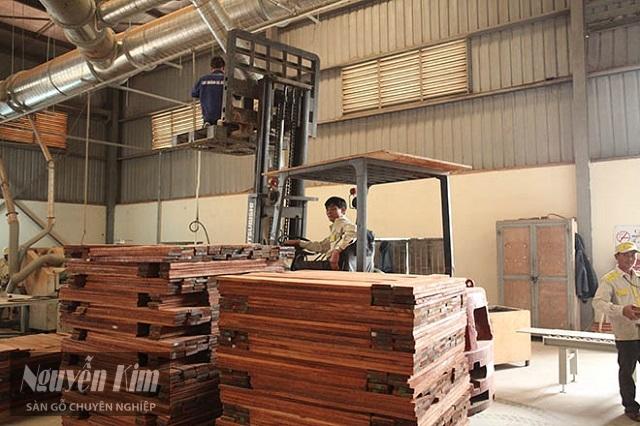 quy trình sản xuất gỗ tự nhiên