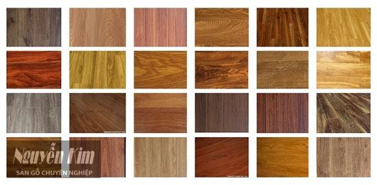 các loại sàn gỗ Việt Nam