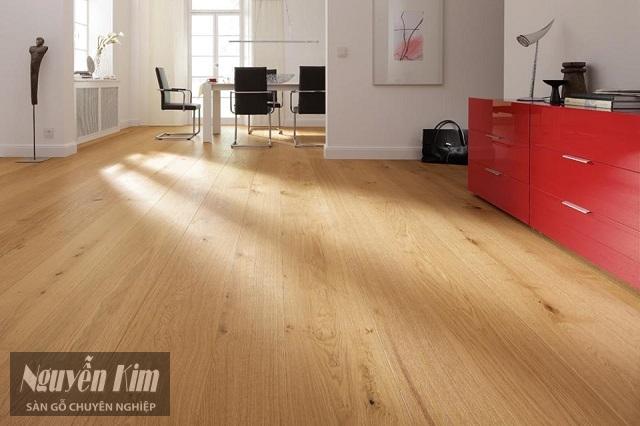 Sàn gỗ Inovar có khả năng chống cháy nổ, chịu nhiệt cao