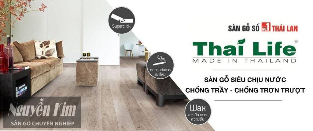 sàn gỗ thailife đẹp
