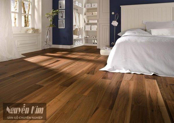 sàn gỗ tự nhiên có chất lượng tốt