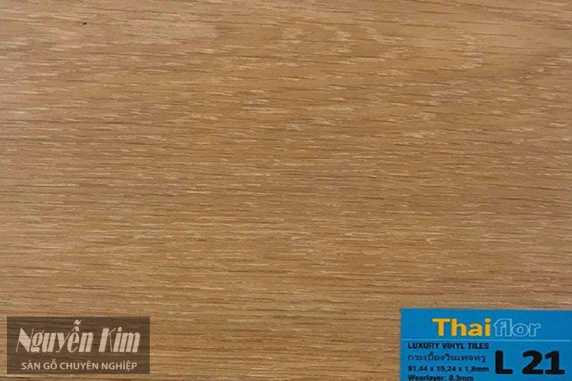 mã màu sàn nhựa dán keo thaiflor