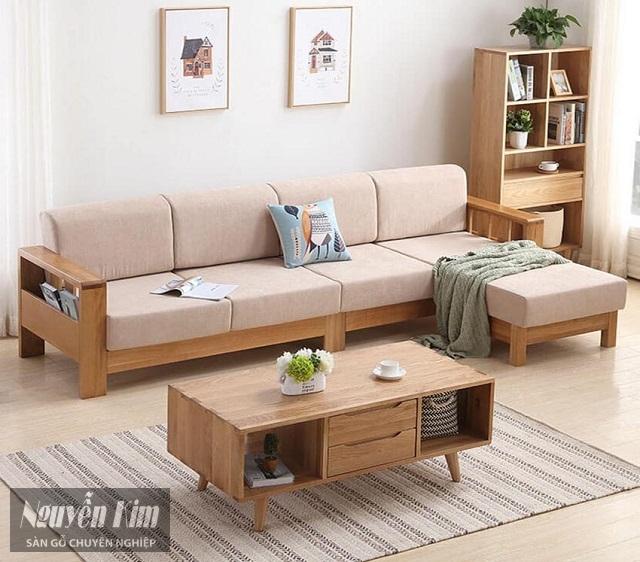 bàn ghế gỗ trang trí phòng khách