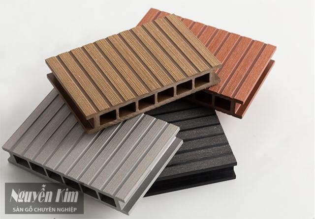 cấu tạo sàn nhựa giả gỗ ngoài trời
