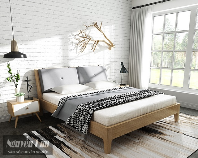 các mẫu giường ngủ ấn tượng