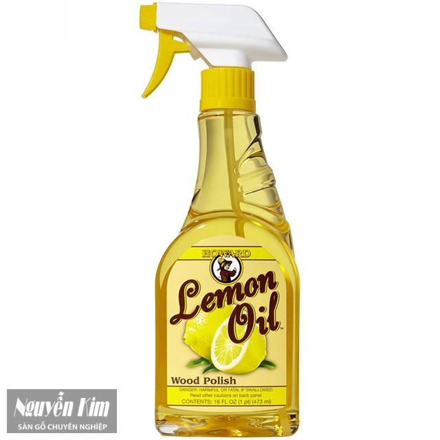 Dung dịch đánh bóng Lemon Oil