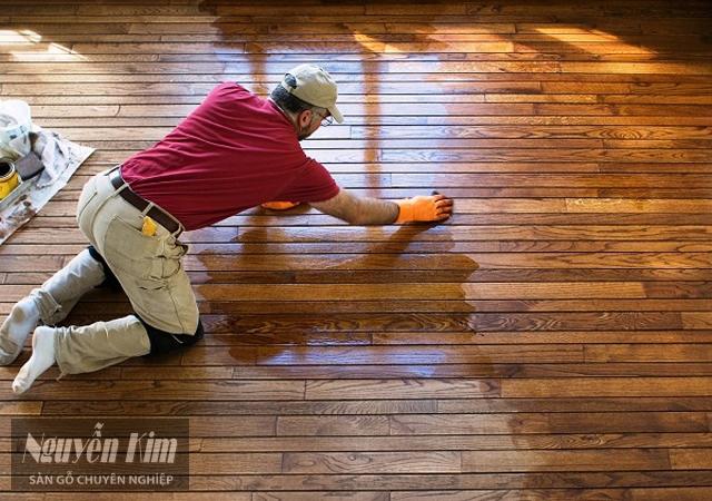 khi nào cần đánh bóng sàn gỗ